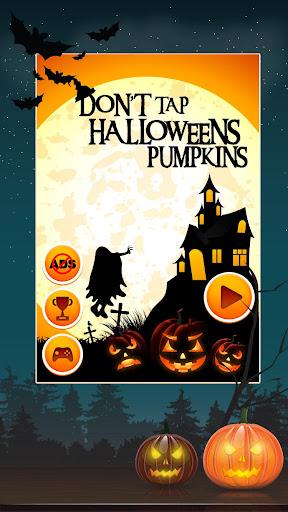 Don't tap Halloween Pumpkin
