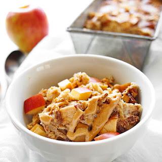Apple Peanut Butter Baked Oatmeal