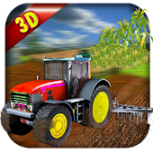 Corn Farming Simulator Tractor