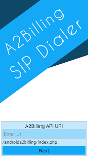 A2Billing SIP Dialer- screenshot thumbnail