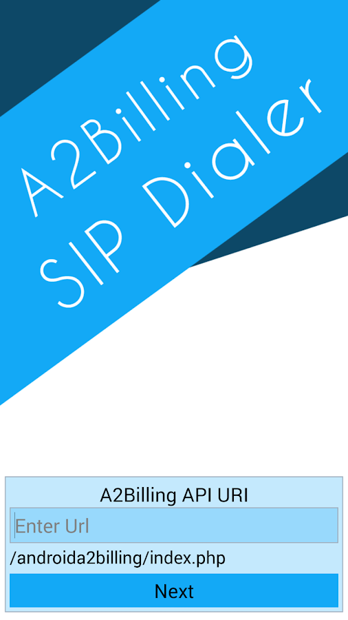 A2Billing SIP Dialer- screenshot