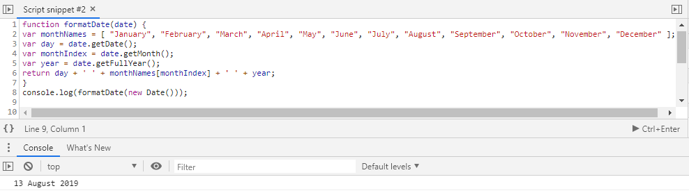How to format a JavaScript date - Intellipaat Community