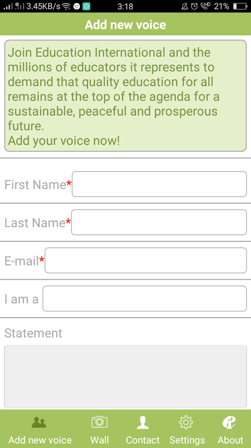MillionVoices2.1- screenshot