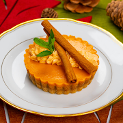 "Pumpkin Spice Cheesecake (4"" Whole Cheesecake)"