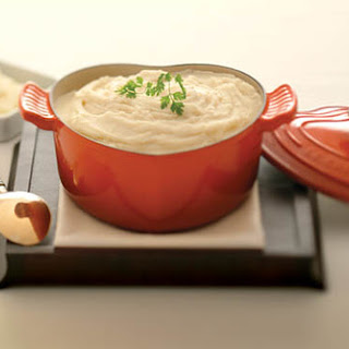 Garlic Mashed Potatoes.