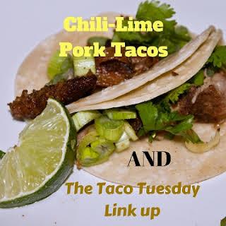 Chile-Lime Pork Tacos and Taco Tuesday Linky #6.