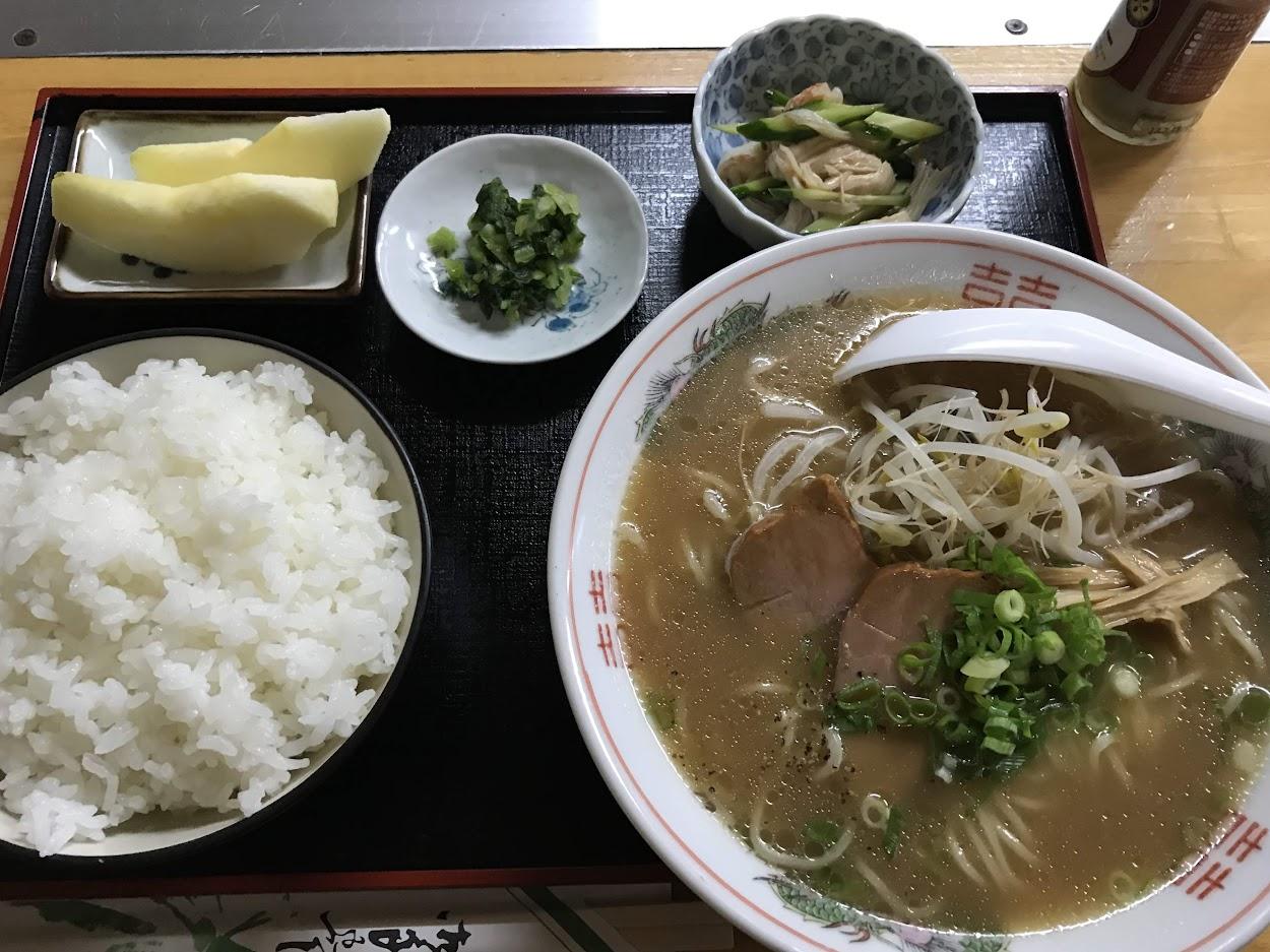 ラーメン定食 720円