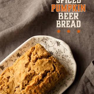 Spiced Pumpkin Beer Bread.