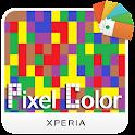 XPERIA™ Color Pixel Theme icon