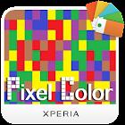XPERIA Color Pixel Theme icon