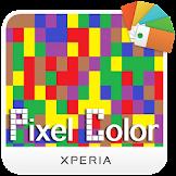 Xperia™ Color Pixel Theme