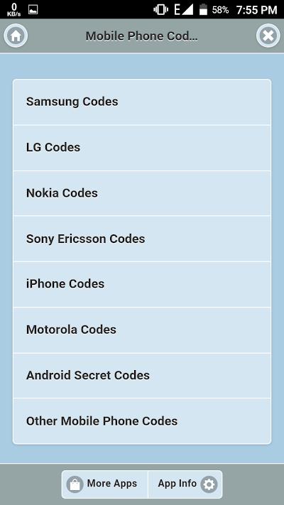 All Mobile Secret Code APK Download - Apkindo co id