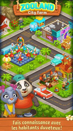 Code Triche Farm Zoo: Ferme des animaux dans la Ville Joyeuse  APK MOD (Astuce) screenshots 1