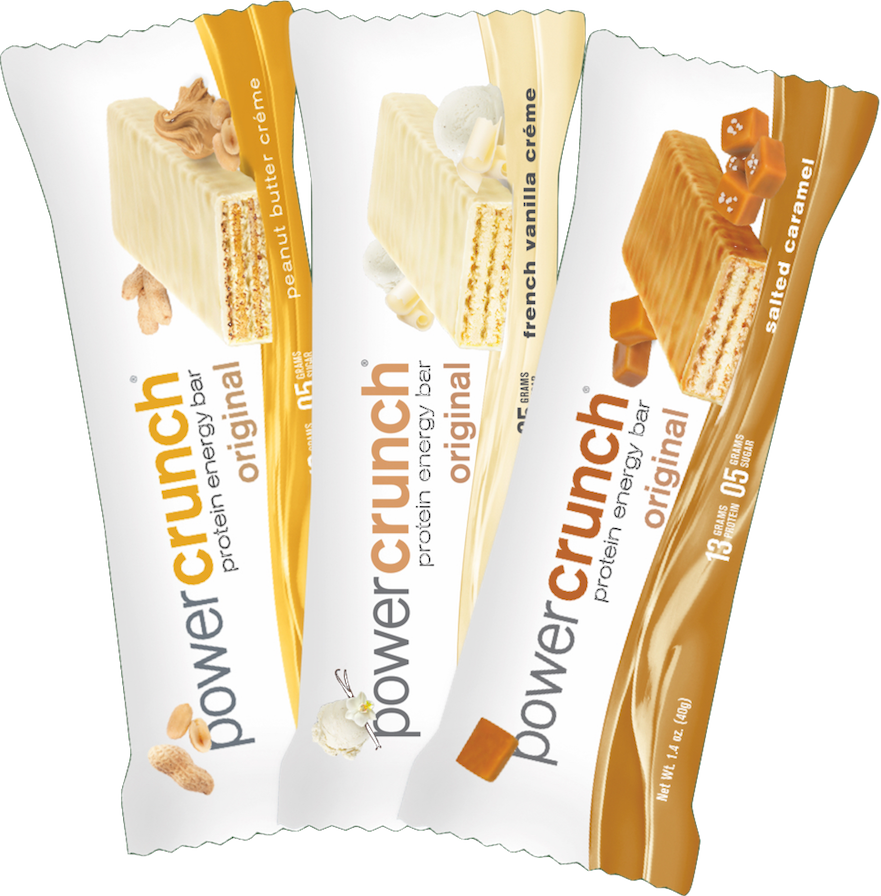 Receive a FREE Sample of Power Crunch Protein Bar