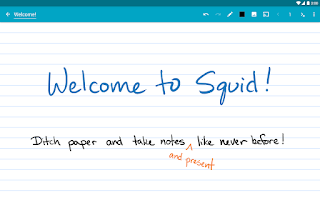 Screenshot of Squid (formerly Papyrus)