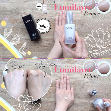 VDL Lumilayer Primer 3D Base 貝殼提亮妝前乳