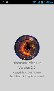 Ethereum Price Pro - náhled