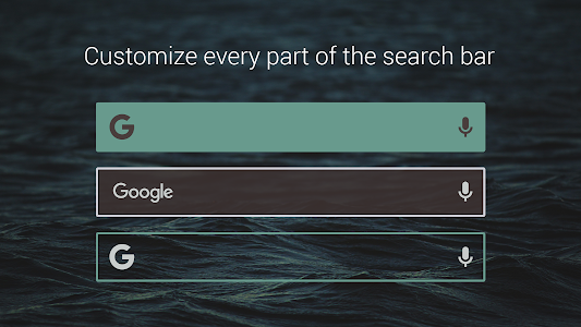 Custom Search Bar Widget CSBW screenshot 19