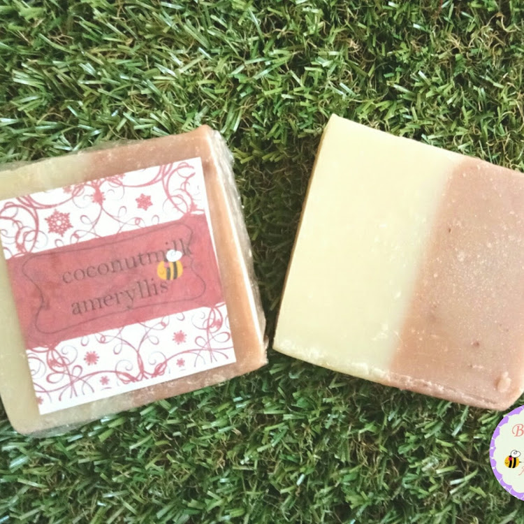 Coconut milk soap Ameryllis by ameryllis nature soap