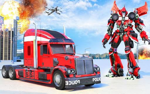 Indian Police Robot Transform Truck 1.13 Screenshots 5