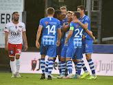 Pro League: la Gantoise enfonce un peu plus l'Excel Mouscron