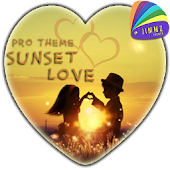 eXperiaz Theme Sunset Love Pro