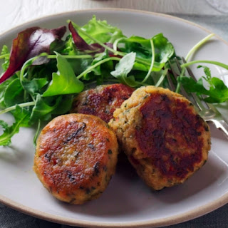 Persian Spiced Lentil Patties.