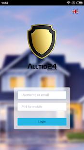 Alltid24 SmartAlarm - náhled