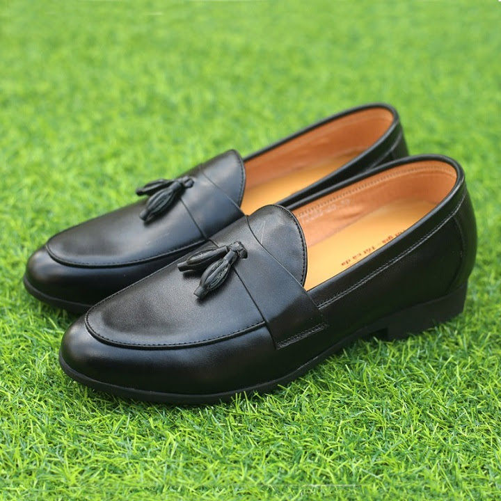 Giày tăng chiều cao da bò TC08