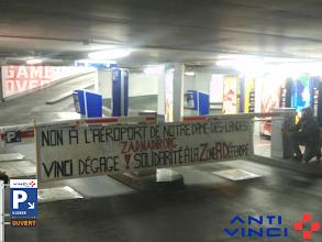 Photo: Opération anti-vinci fin octobre 2012 - La ZAD est partout