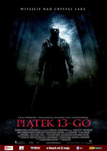 Przód ulotki filmu 'Piątek 13-go'