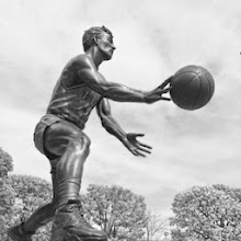 Photo: John Stockton's statue in SLC