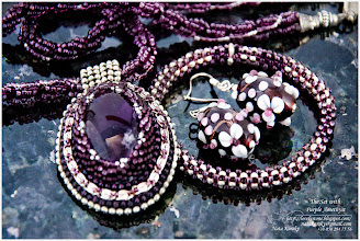 Photo: The Set with Purple Amethyst - Гарнітур з фіолетовим аметистом