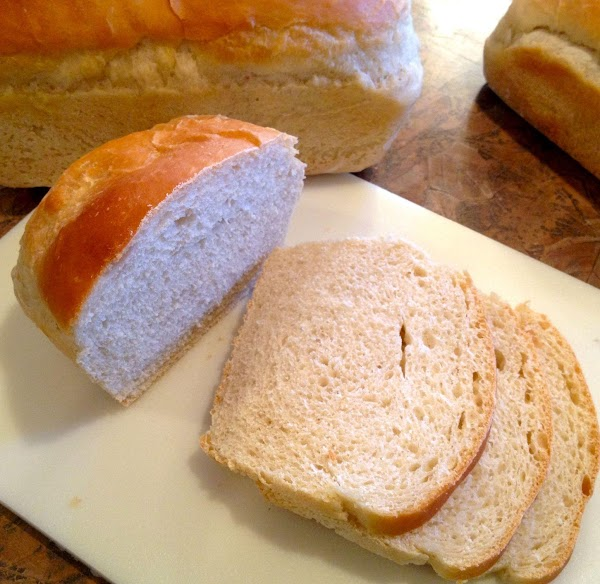 Knead down and divide into four. Shape the 4 into loaves and place into...