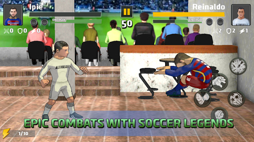 Free soccer game 2018 - Fight of heroes 1.6 screenshots 14