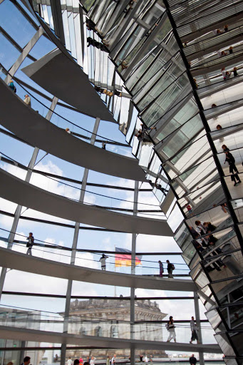Azamara-Reichstag-dome-Berlin-Germany.jpg - The glass dome of the Rheichstag in Berlin, which was added during reconstruction in 1997.