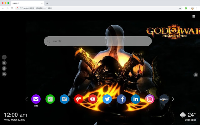 God of War Popular game HD Wallpapers Themes