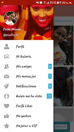 Espau00f1a Chat: La app de chat y buscar pareja 3.8 screenshots 21