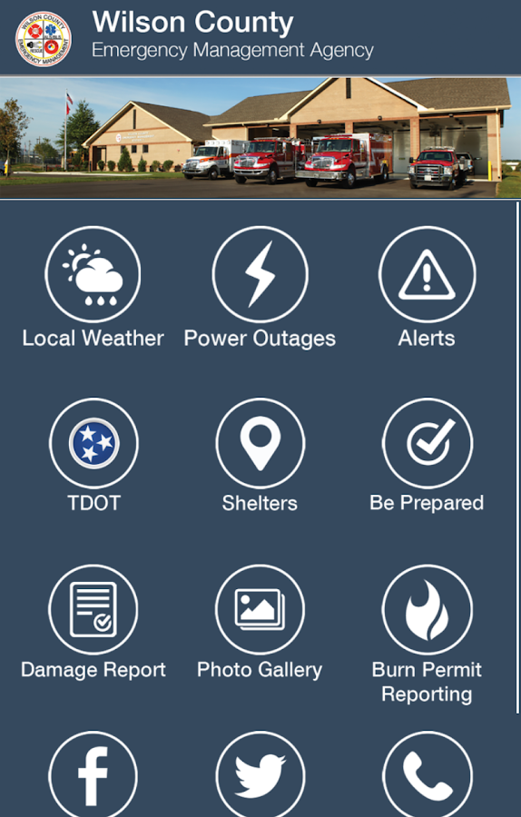 Wilson County EMA- screenshot