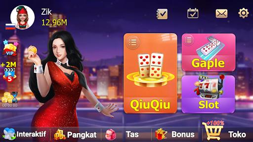 ZIK Domino QQ 99 QiuQiu KiuKiu Online 1.6.5 screenshots 1