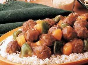 Exquisite Sweet And Sour Meatballs Recipe