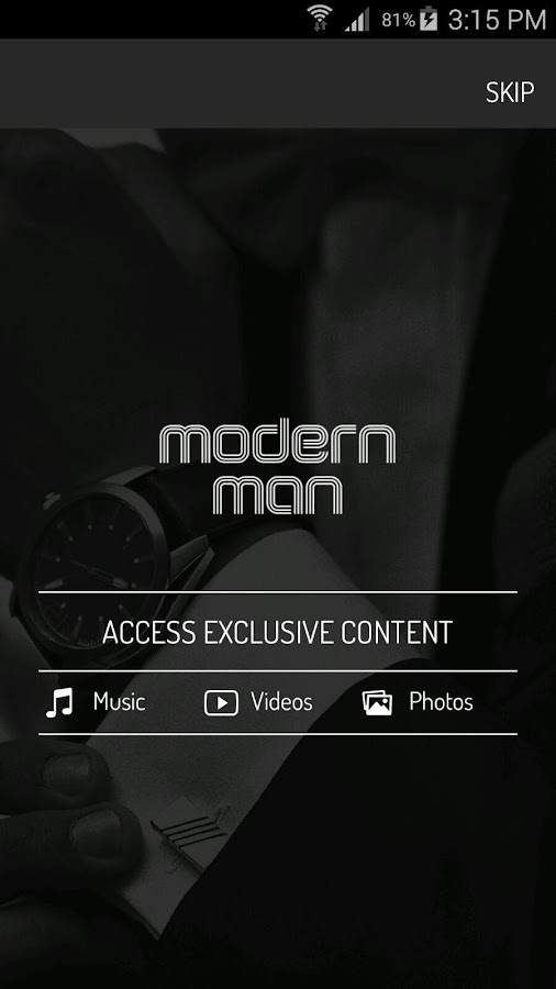 Modern Man- screenshot