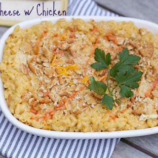 Mac and Cheese with Chicken