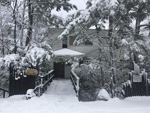 Photo: 【吹き抜けのある家】の雪景色