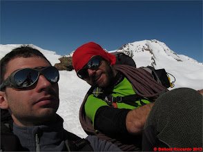 Photo: Ric_IMG_1298 io e Riccardo, pareggiati i conti con la Palla Bianca