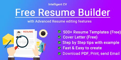 Resume Builder App Free CV maker CV templates 2020 screenshot 14
