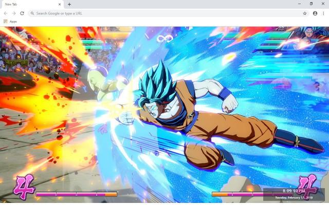 Dragon Ball FighterZ New Tab