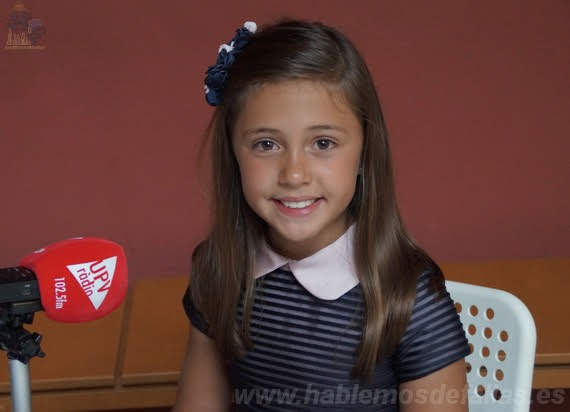Entrevistas a Candidatas infantiles a Cortes de Honor. Jesús. #Elecció19