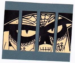 Photo: Wenchkin's Mail Art 366 - Day 166, card 166a
