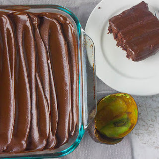 Chocolate Avocado Frosting.